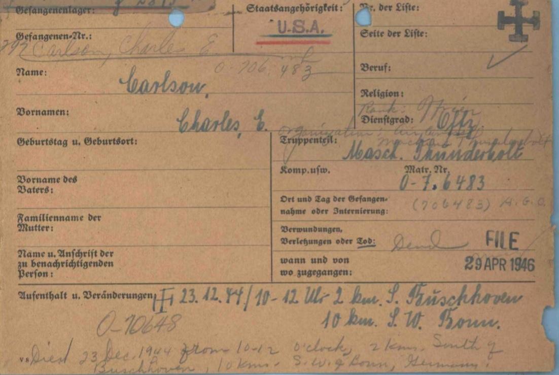 german-death-card