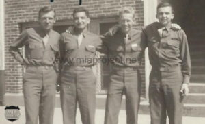Jan 1944 - Vic Huss at Baylor Univ 1944